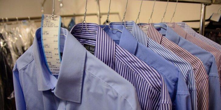 Vypráno a vyžehleno: jakékoli služby čistírny oděvů v hodnotě 300 nebo 600 Kč