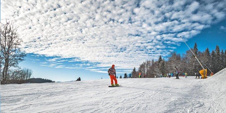 2 - 4 denní lyžovačka v srdci Jizerských hor včetně bohaté snídaně pro dva