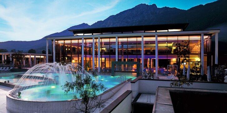 Ubytování v hotelu jen 10 km od Salzburgu: s jídlem i vstupy do termálních lázní