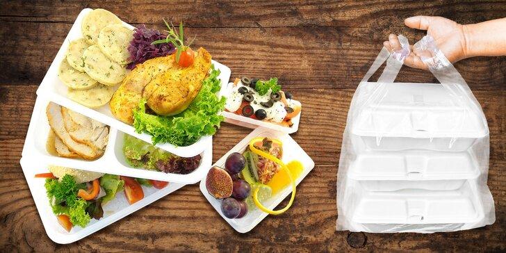 Zdravá jídla bez námahy: krabičková strava na zkoušku nebo na celých 5 dní