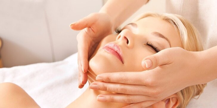Ošetření obličeje, krku nebo dekoltu chemickým peelingem