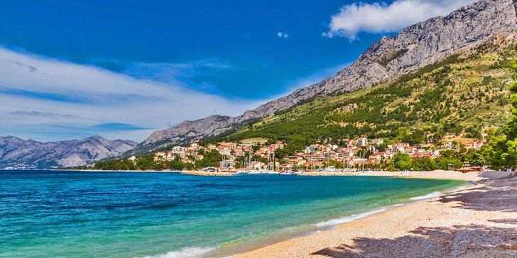 Týdenní dovolená v mobilhomech v kempu Baško Polje v Chorvatsku