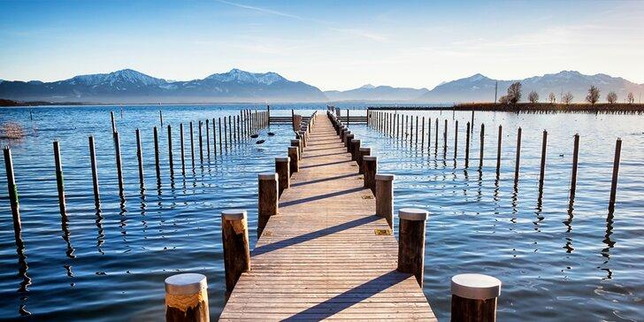 Aktivní dovolená u bavorského jezera Chiemsee, pobyt pro dva vč. snídaně