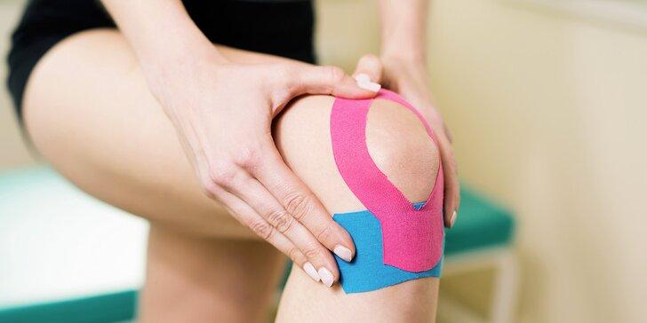 Účinný pomocník proti bolestem: Profesionální aplikace kineziologického tejpu