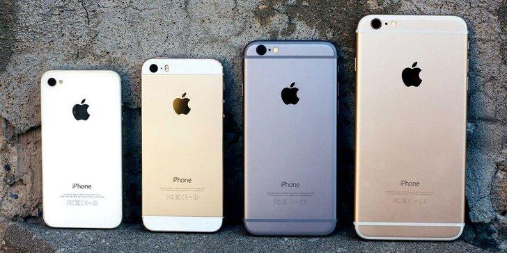 Výměna zadního krytu baterie u Apple iPhone 5s, 5c, 6 a 6plus