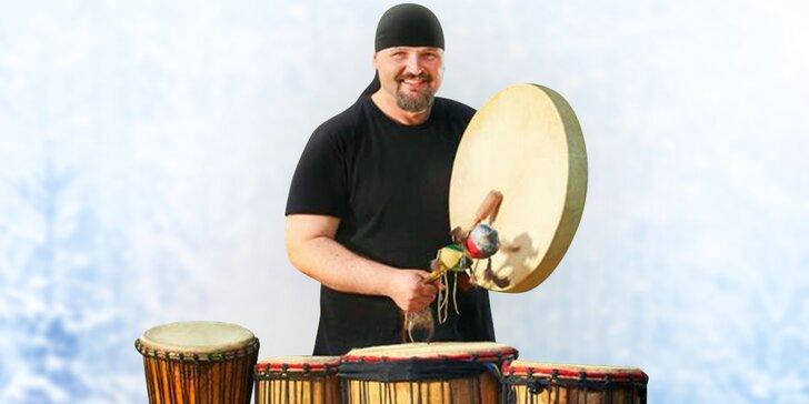Víkendový kurz kreativního bubnování na africké bubny djembe