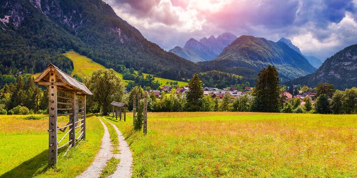 Malá země, velké zážitky: Putování Slovinskem včetně dopravy a 2 nocí v hotelu
