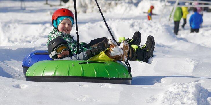 Snowtubing Rokytnice - zábava a adrenalin na sněhu pro rodiny i kamarády