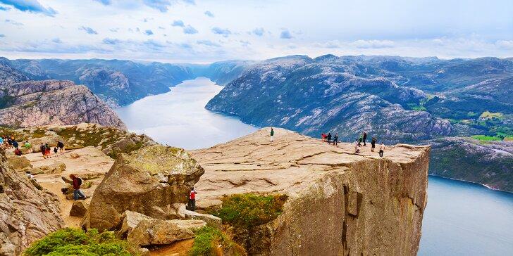 Poznávací zájezd do Norska: ubytování se snídaní, trajekty a úchvatná příroda