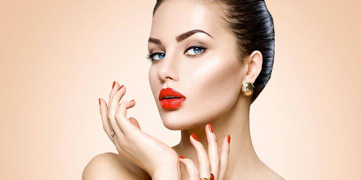 Neslíbatelná krása: permanentní make-up kontury a případně i výplně rtů