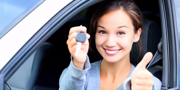 Řidičský průkaz sk. B: zvládněte autoškolu do 30 dní - rezervace