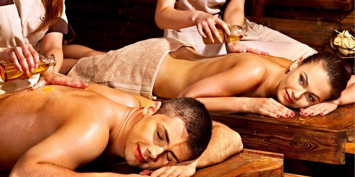 Romantika pro dva: Hodinová relaxační thajská masáž