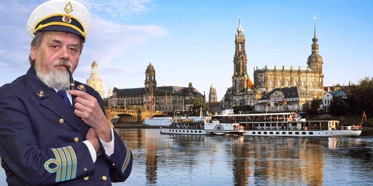 Romantická plavba lodí do Drážďan s programem a polopenzí