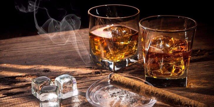 Degustace 7 vzorků až 21letých třtinových rumů s pohoštěním