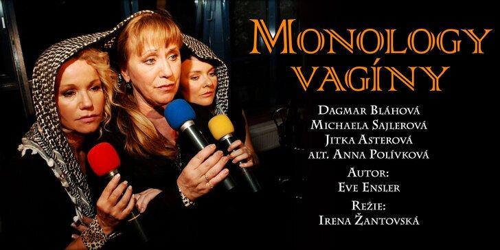 """Vstupenka na divadelní představení """"Monology vagíny"""""""