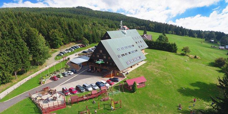 3-8denní dovolená v Krkonoších: chutná polopenze, elektrokola i další aktivity