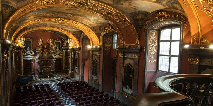Smetana, Dvořák a Vivaldi v Zrcadlové kapli Klementina