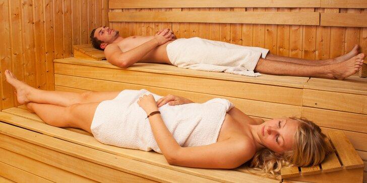 Prohřejte svá těla: Super relax v privátní sauně pro 2 v hotelu Anette