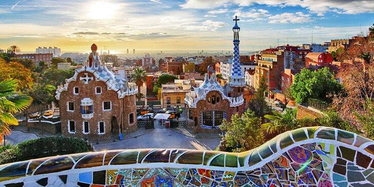 Letecký zájezd do Barcelony: ubytování se snídaní, průvodce, jarní termíny