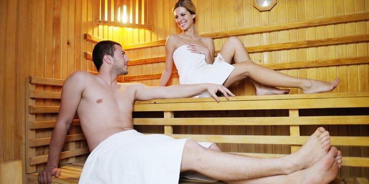 Hodina privátního saunování s vůní éterických olejů pro dva