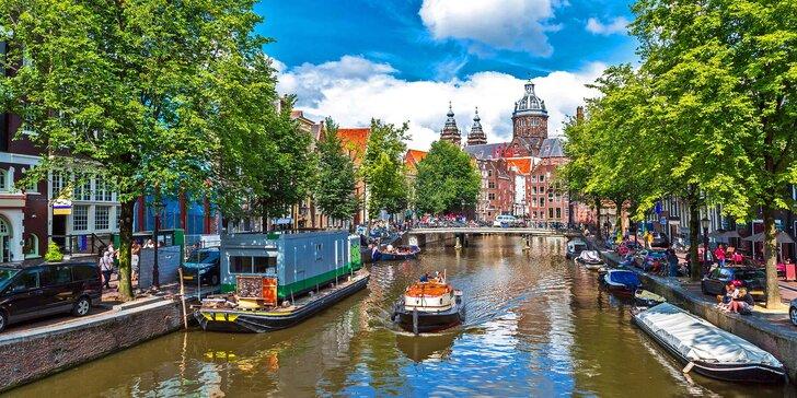 2, 3 nebo 5 nocí v hotelu nedaleko Amsterdamu: po snídani za uměním i zábavou