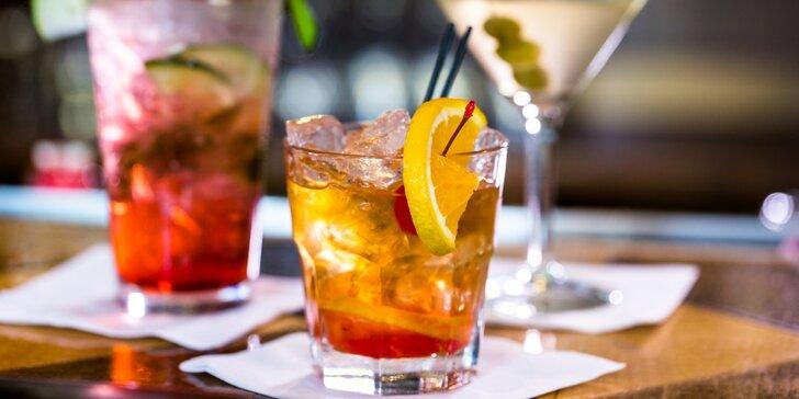 2x michaný drink dle výběru v Cocktail baru Alcatraz