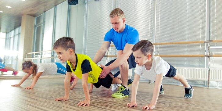 3x vstup na cvičení pro děti (4-7 let)