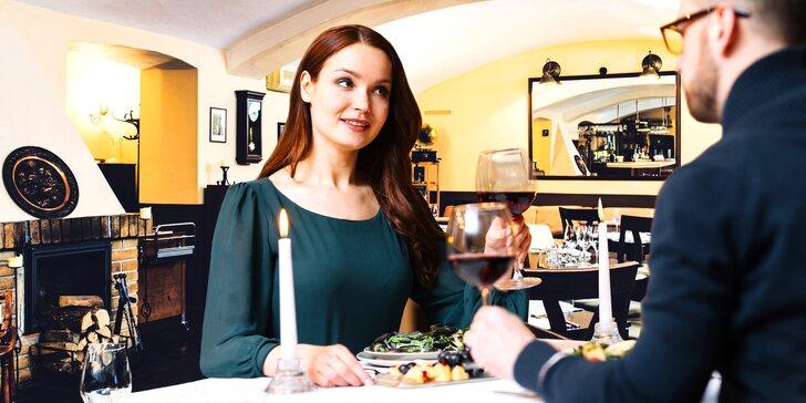 Opera pro chuťové pohárky: 3chodové degustační menu pro 2 náročné gurmety
