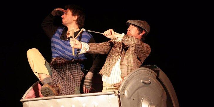 Vstupenka na divadelní představení Dobrodružství Toma Sawyera