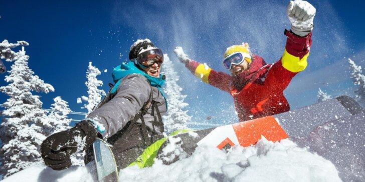 Last minute březnová lyžovačka: 3 noci pro dva ve Špindlerově Mlýně s polopenzí