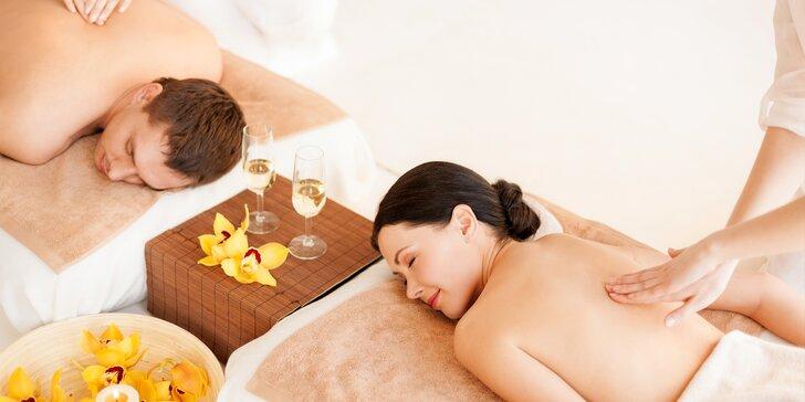 3 dny u Mělníka: Vynikající polopenze, sauna a masáže pro dvě romantické duše