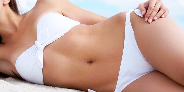 Neinvazivní bezbolestná liposukce - partie dle výběru
