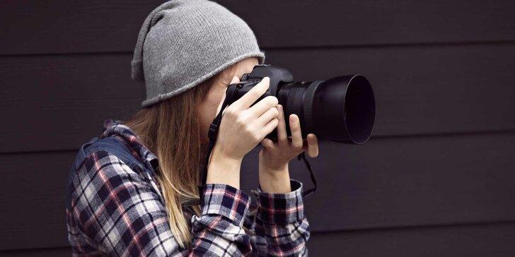 Individuální dvoudenní fotokurz s vlastním digitální fotoaparátem