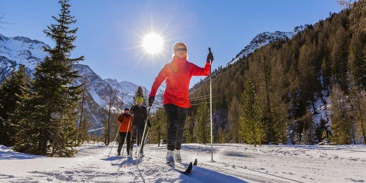 Víkendový běžkařský kurz: 2× ubytování se snídaní a plno radosti ze sněhu