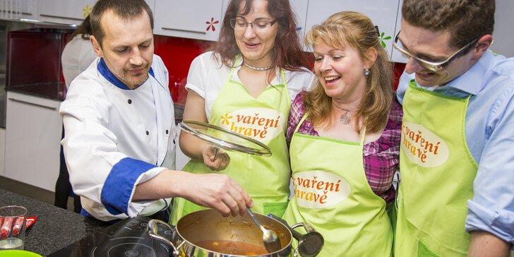 Kurz vaření: Králík plněný baby špenátem s plněnými bramborami