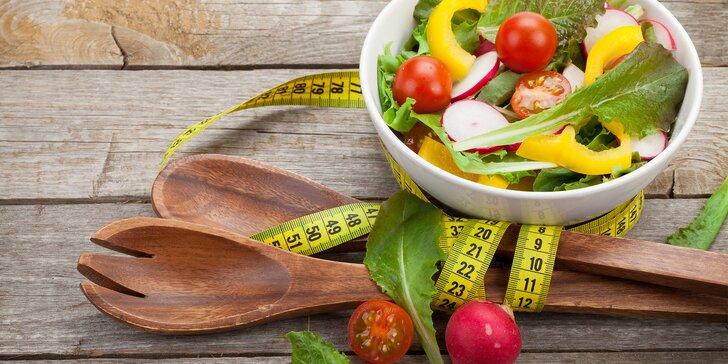 Komplexní balíček pro hubnutí vč. jídelníčku a měření