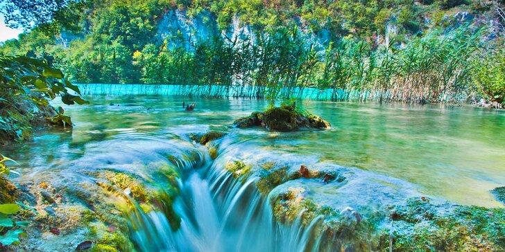 Po stopách mayovek na Plitvická jezera s průvodcem a odjezdy v pondělí