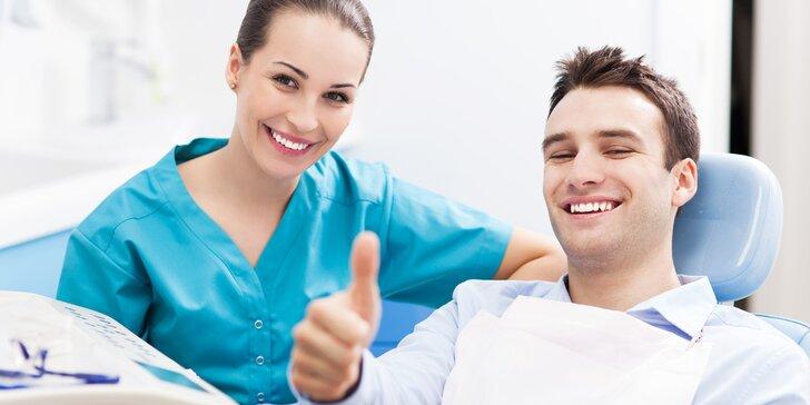 Komplexní dentální hygiena u Olgy Zoubkové včetně air-flow