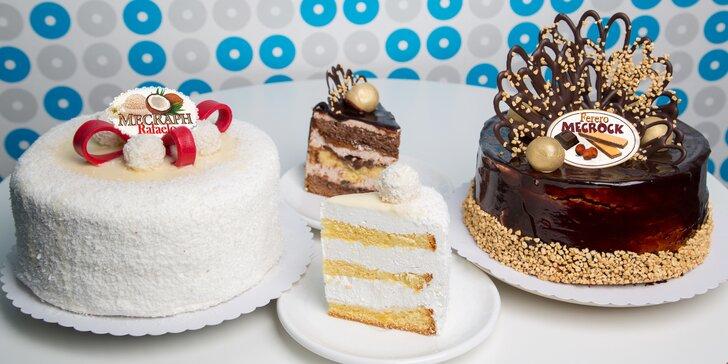 Nadýchané dorty až pro 12 osob: kokosovo-mandlový nebo ořechovo-nugátový