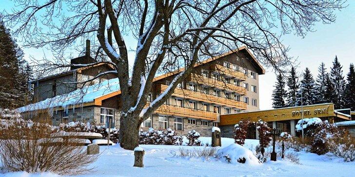 Jarní pohoda na Šumavě: relaxace a velký výběr sportovních aktivit v nové hale