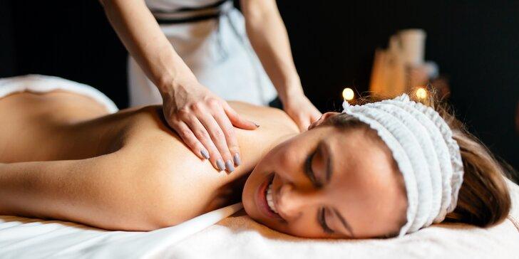 Klasická masáž zad a šíje - 30 nebo 60 minut