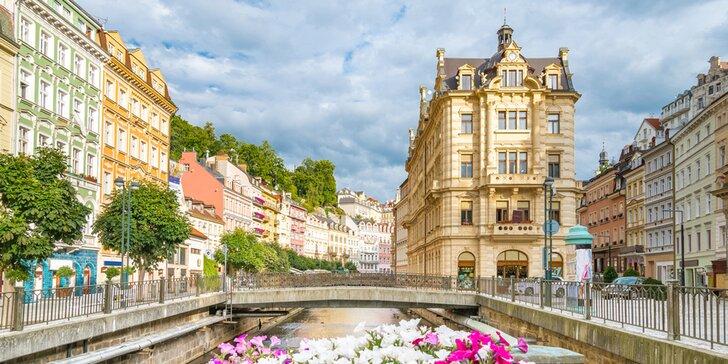 Odpočinkový pobyt v Karlových Varech: Chutné jídlo nebo i lázeňské procedury