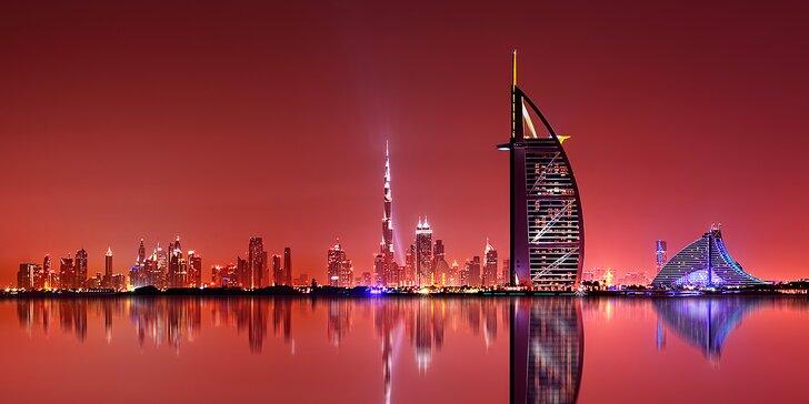 6 nocí ve 4* hotelu v srdci Dubaje s bazénem a snídaní – březen až květen