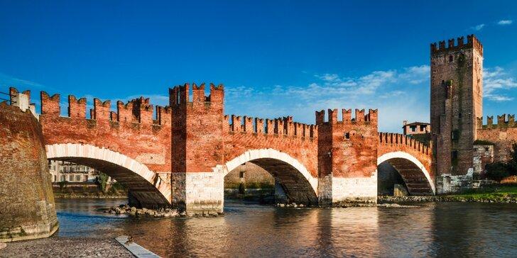 Zájezd do Verony: slavná římská aréna, kostel San Fermo a bazilika San Zeno