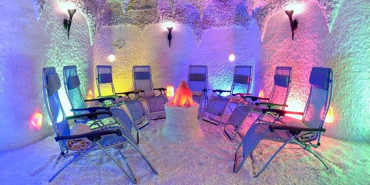 Blaho nejen pro dýchací cesty: 1 vstup nebo permanentka do solné jeskyně
