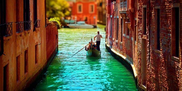 Perly Itálie: Řím, Florencie, Verona, Benátky s ubytováním na 3 noci a koupáním