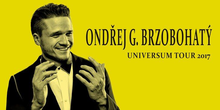 Lístek na koncert Ondřeje Brzobohatého, který na podium pozve i Martu Jandovou