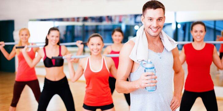 Vstup na skupinové cvičení: jóga, pilates, kruhový trénink a další sporty