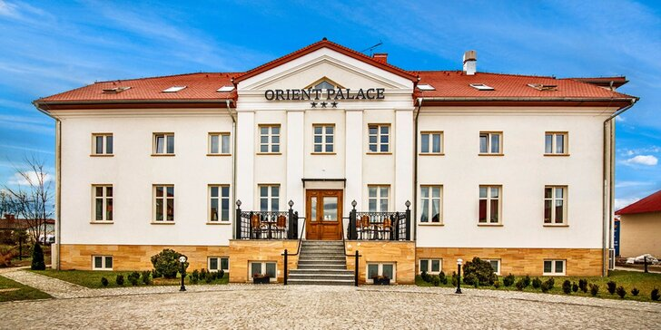 Relaxace nedaleko Wroclavi: Polopenze a neomezený vstup do skvostného wellness
