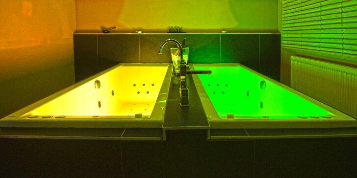 Relax u Borského parku: Voňavá koupel v masážních vanách pro 2 pohodáře